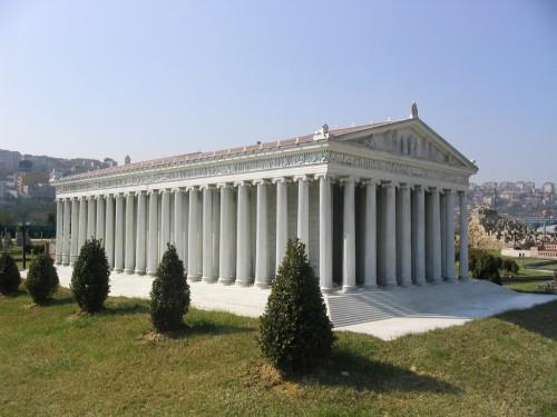 Знаменитый храм Артемиды