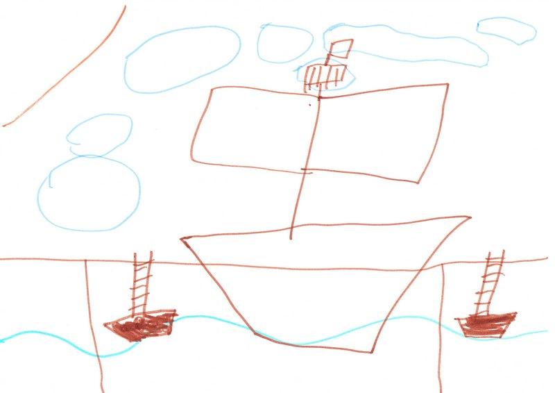 Рисунок моего сына Саши